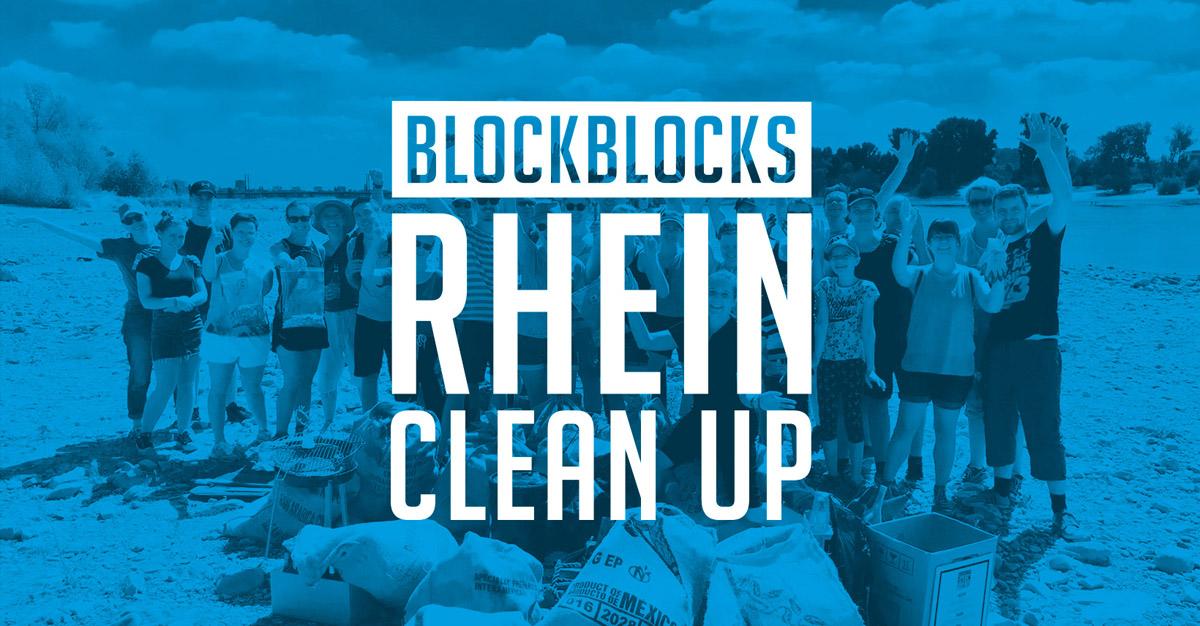 Blockblocks Rhein Clean up