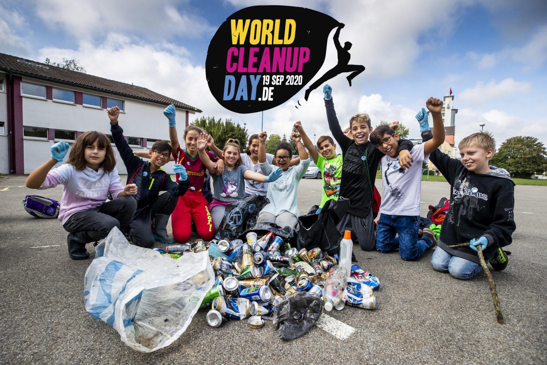 Bis gleich am Deich zum World Cleanup Day in Bremen