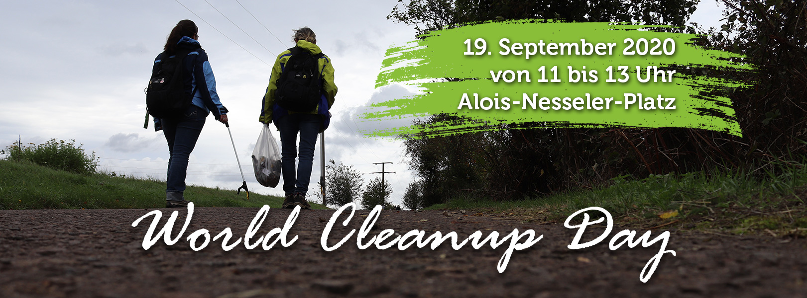 World Cleanup Day 2020 in Bexbach (Saarland)
