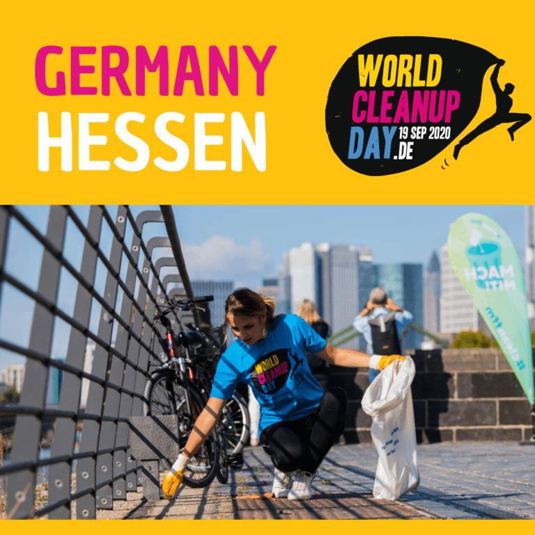 WorldCleanupDay Hessen