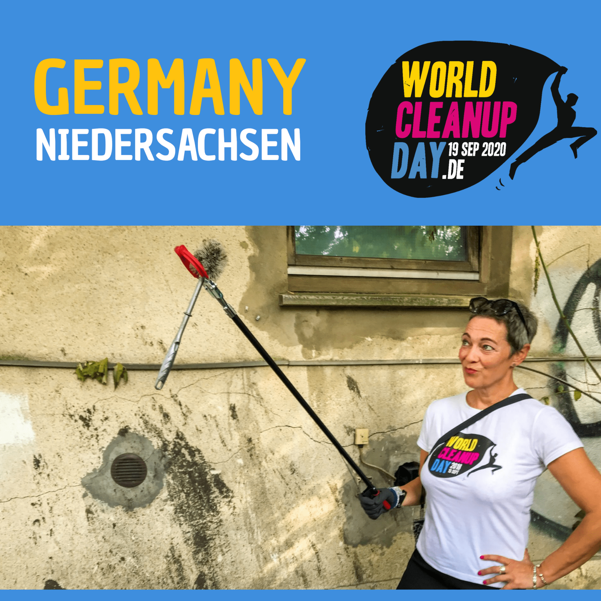 Cleanup-Aktion Hanstedt / Nordheide (Niedersachsen)