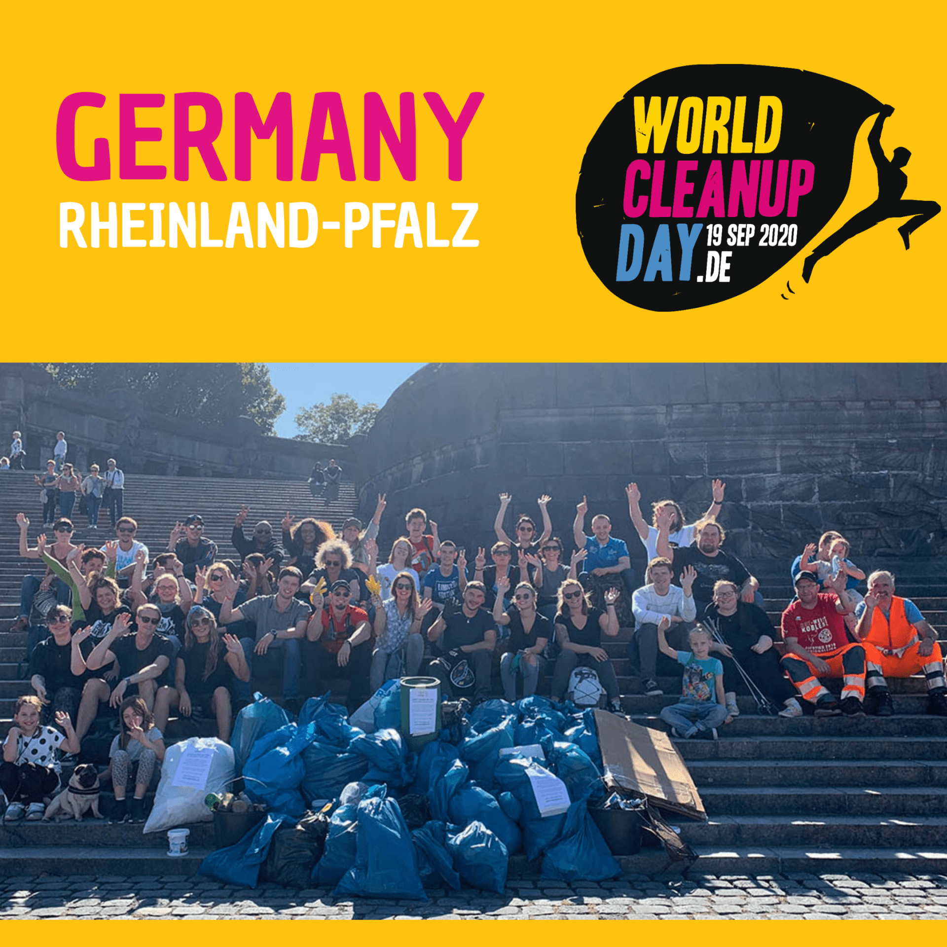World Clean Up Day 2020 - Koffi Company (Rheinland-Pfalz)