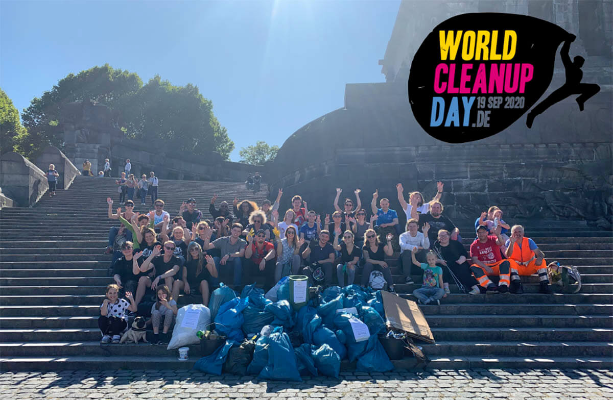 World Cleanup Day Koblenz 2020 (Rheinland-Pfalz)