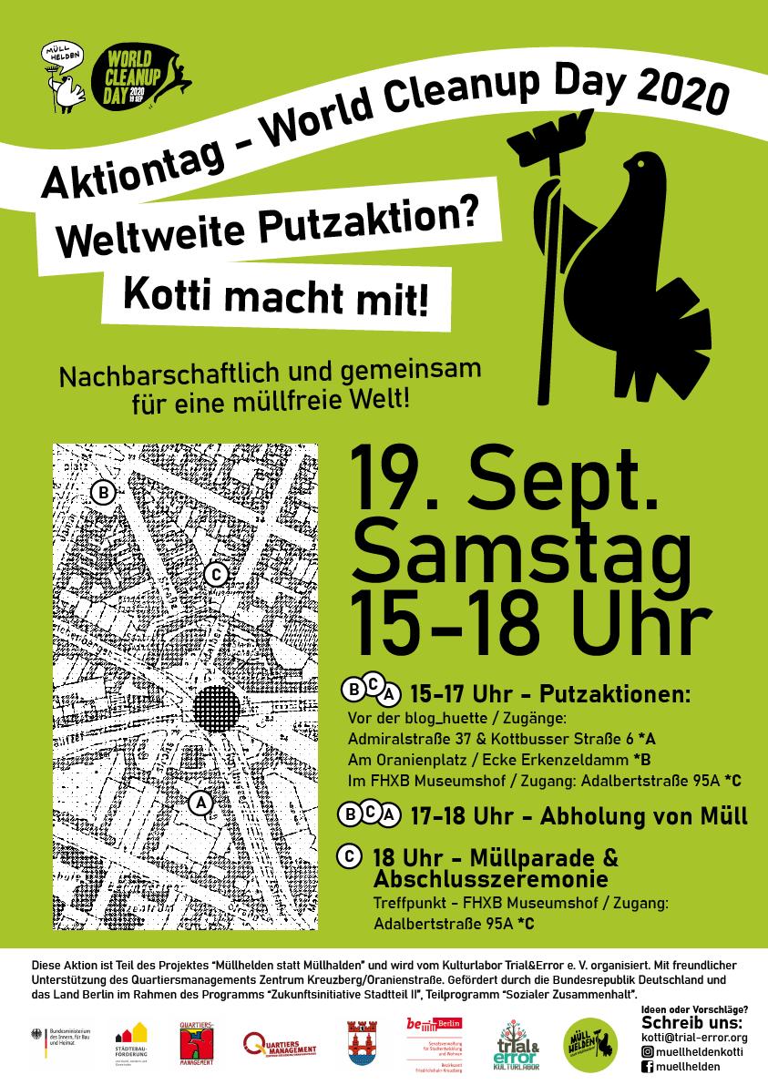 World Cleanup Day am Kotti (Berlin)