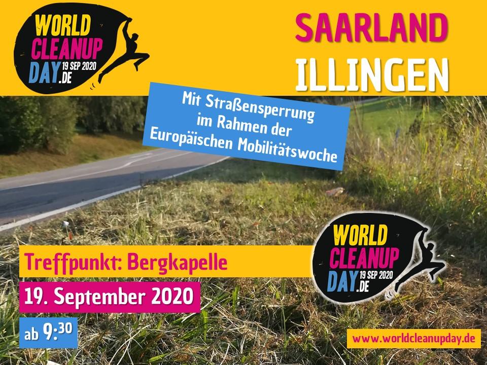 World Cleanup Day & EMW auf der Kipp (Saarland)