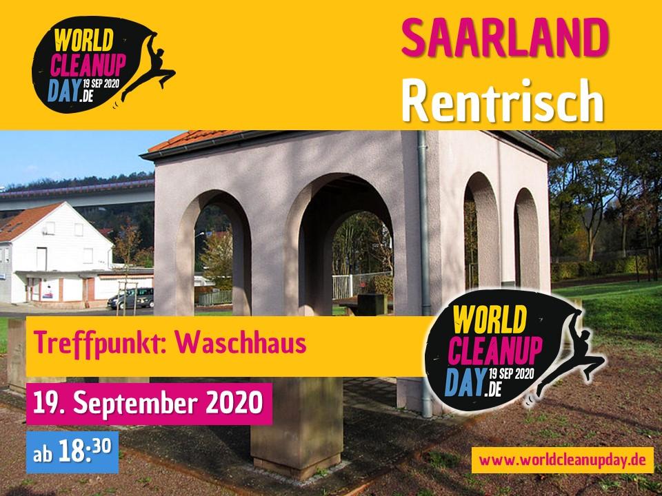 World Cleanup Day in Rentrisch (Saarland)