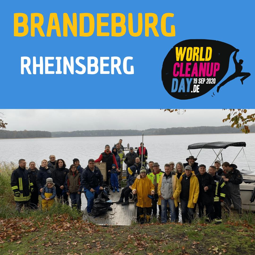 World Cleanup Day Rheinsberg und umliegende  Dörfer X (Brandeburg)