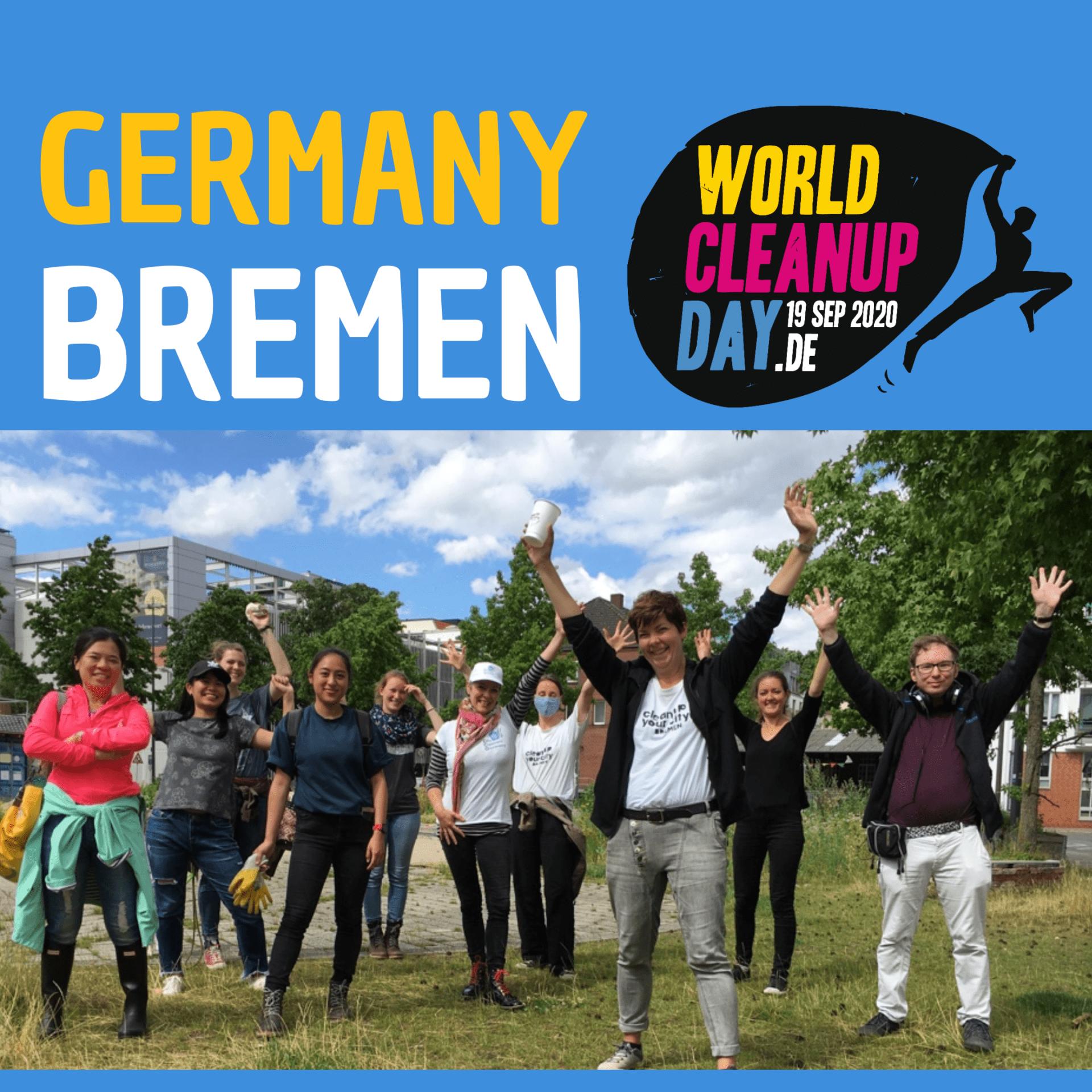 World Cleanup Day am Werdersee (Bremen)