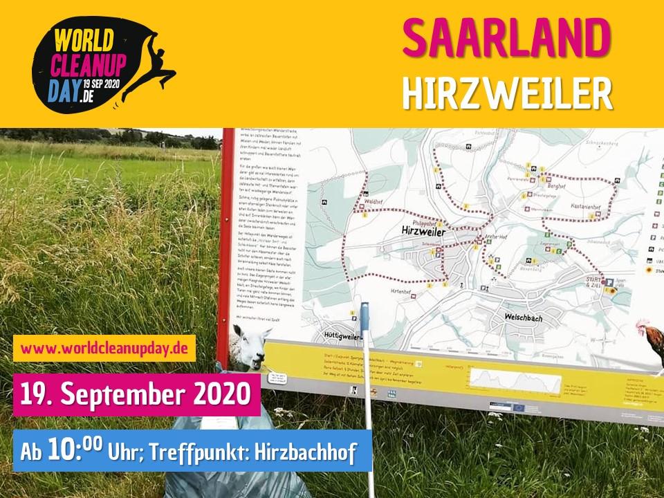 World Cleanup Day in Illingen-Hirzweiler (Saarland)