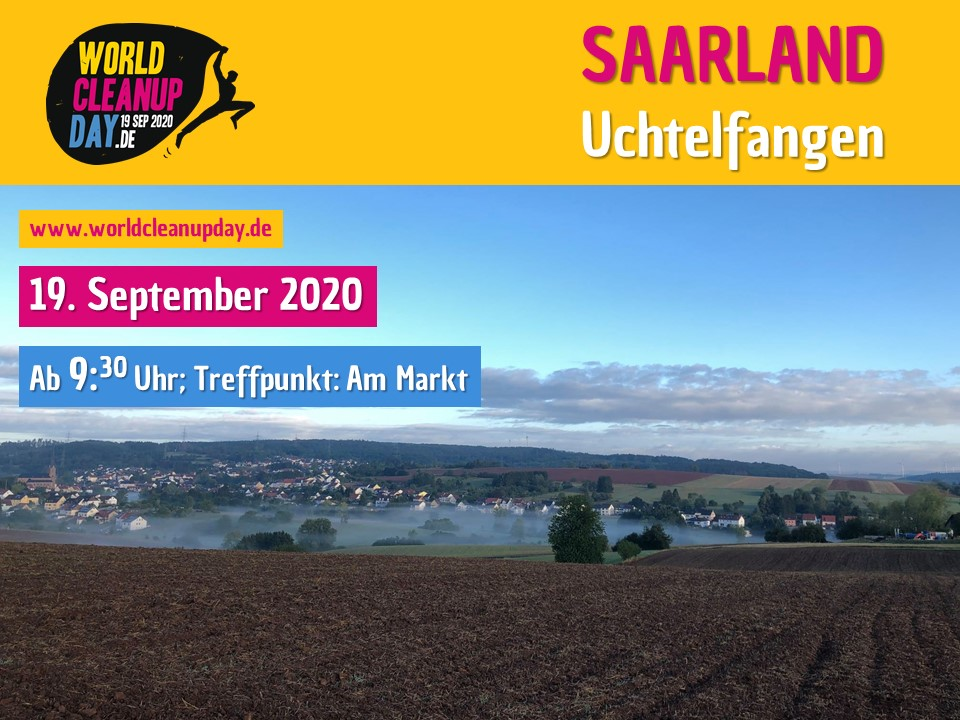 World Cleanup Day in Uchtelfangen (Saarland)