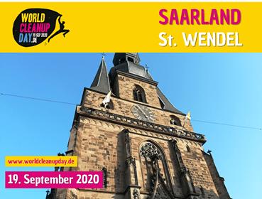 Müllfrei Wandern in St.Wendel (Saarland)