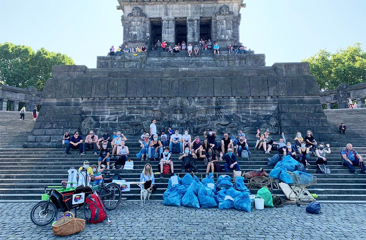 World Cleanup Day 2021 –Koblenz (Rheinland-Pfalz)