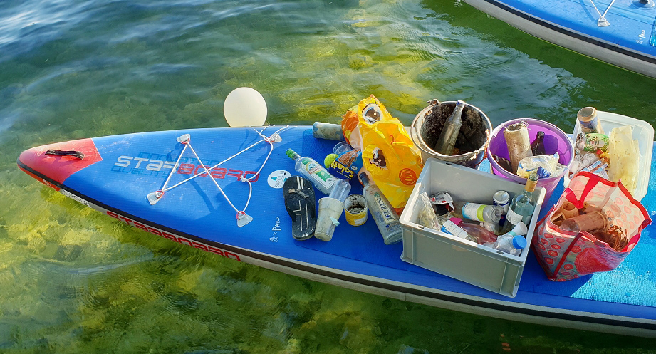 Starboard SUP Cleanup (Bayern)