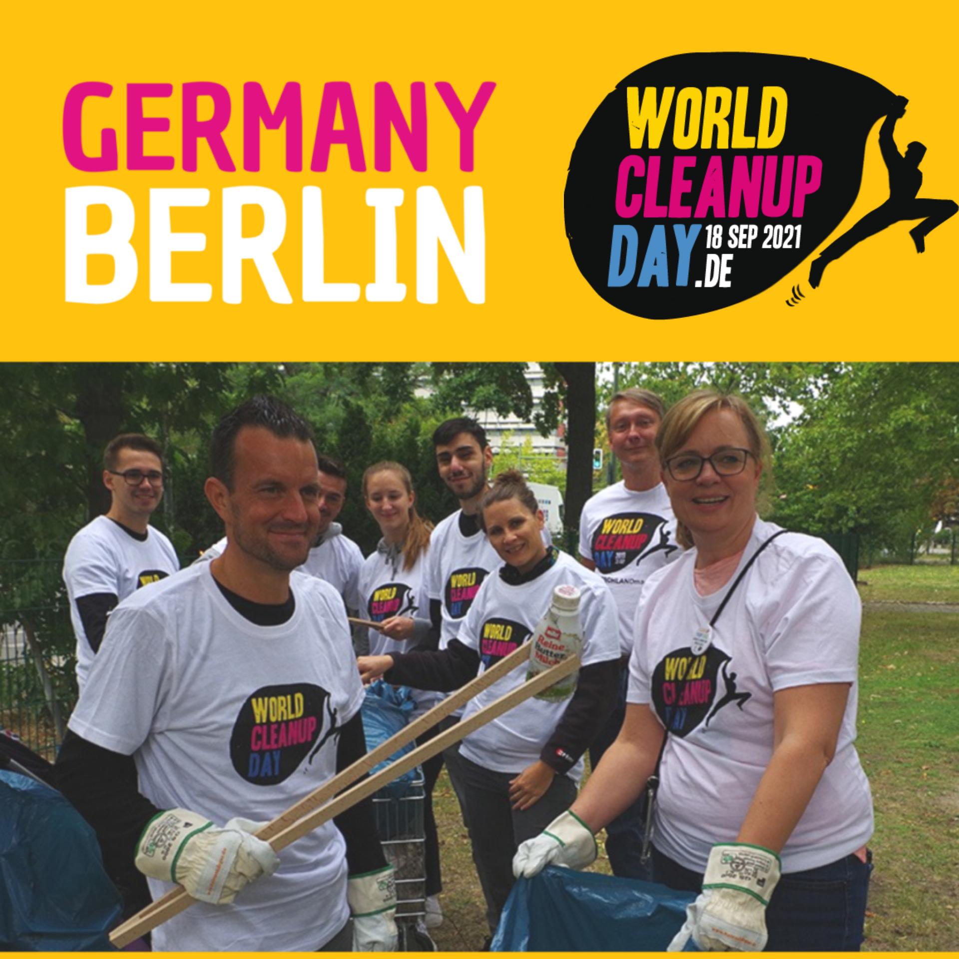 CleanUp Schlachtensee/Krumme Lanke (Berlin)
