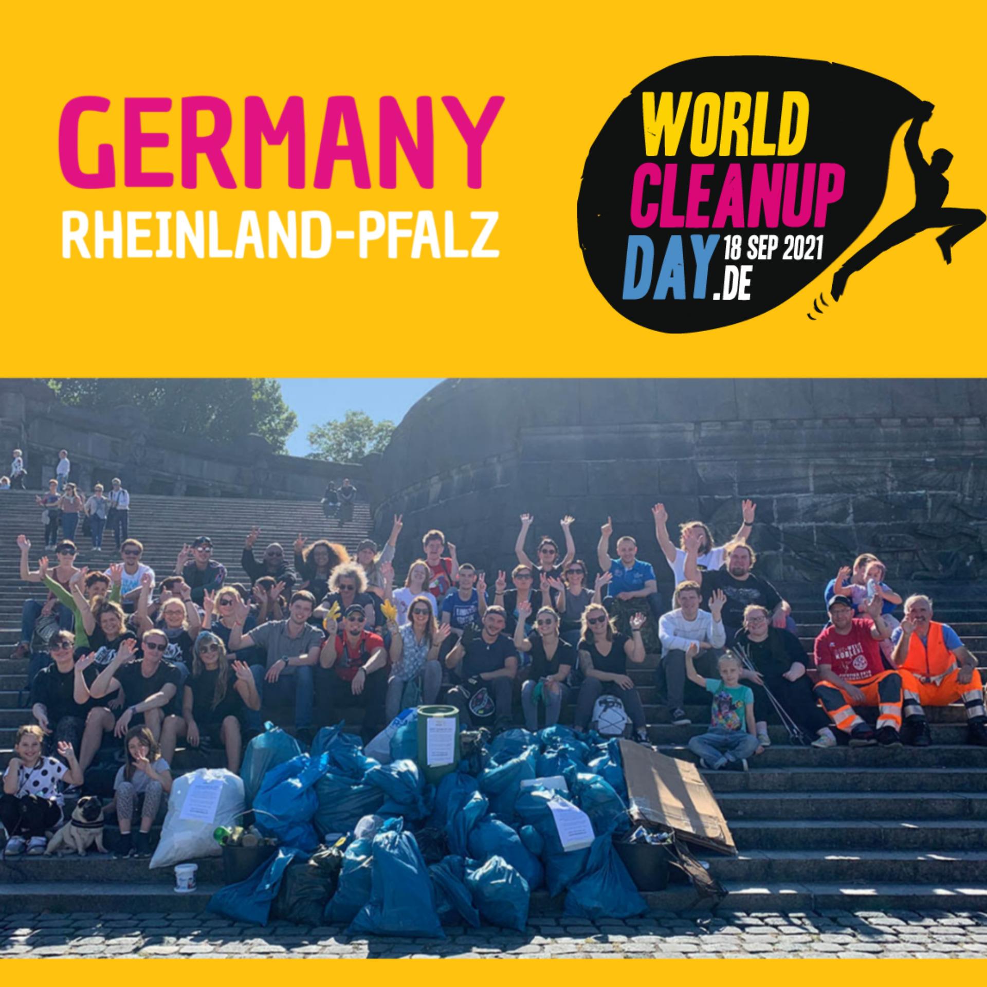 World Cleanup Day Nieder-Olm (Rheinland Pfalz)