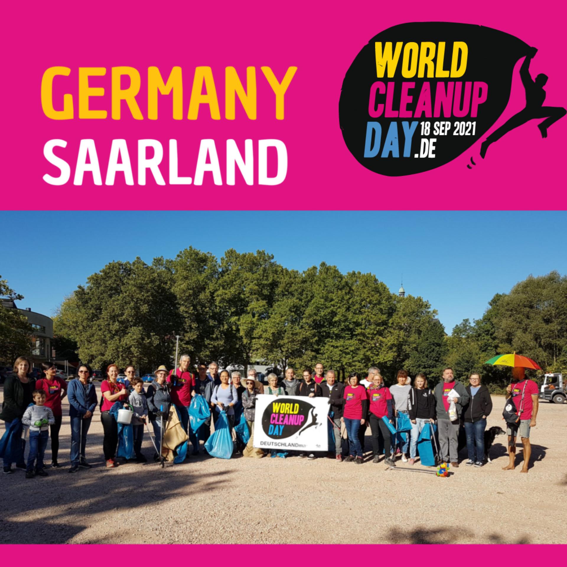 World Cleanup Day in Hirzweiler (Saarland)