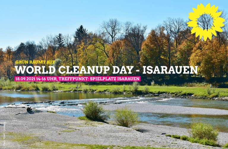 world cleanup day isarauen