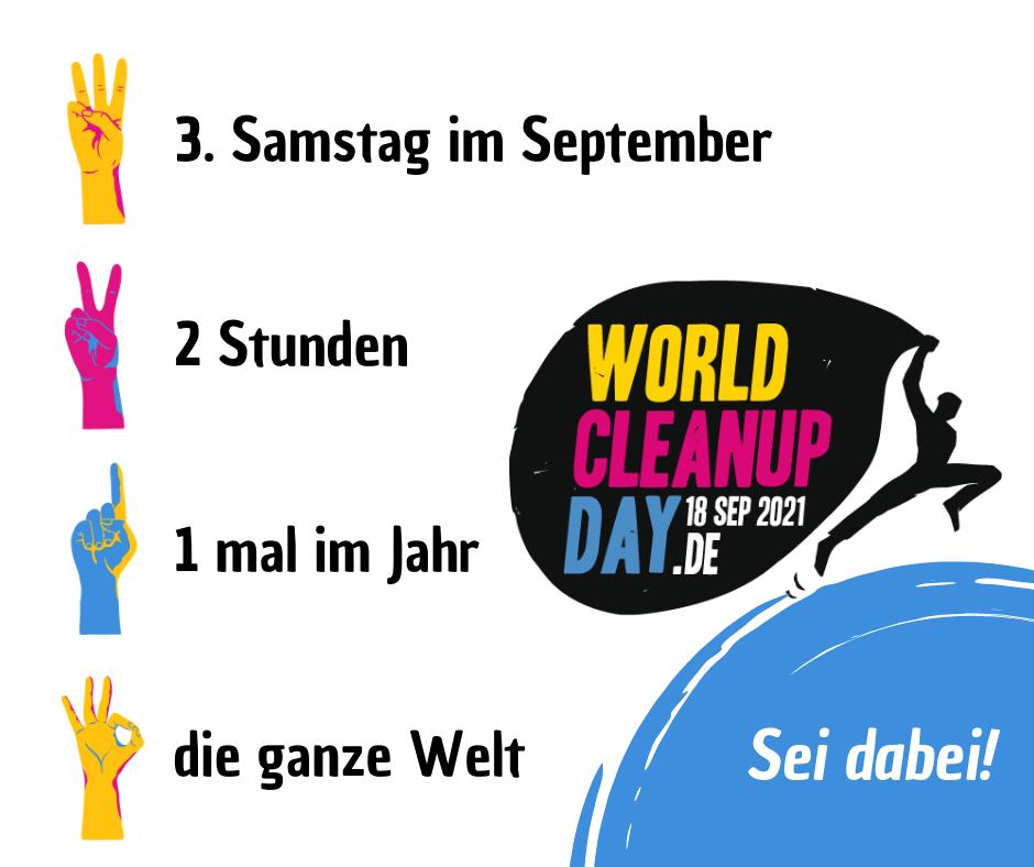 World Cleanup Day Weimar (Thüringen)