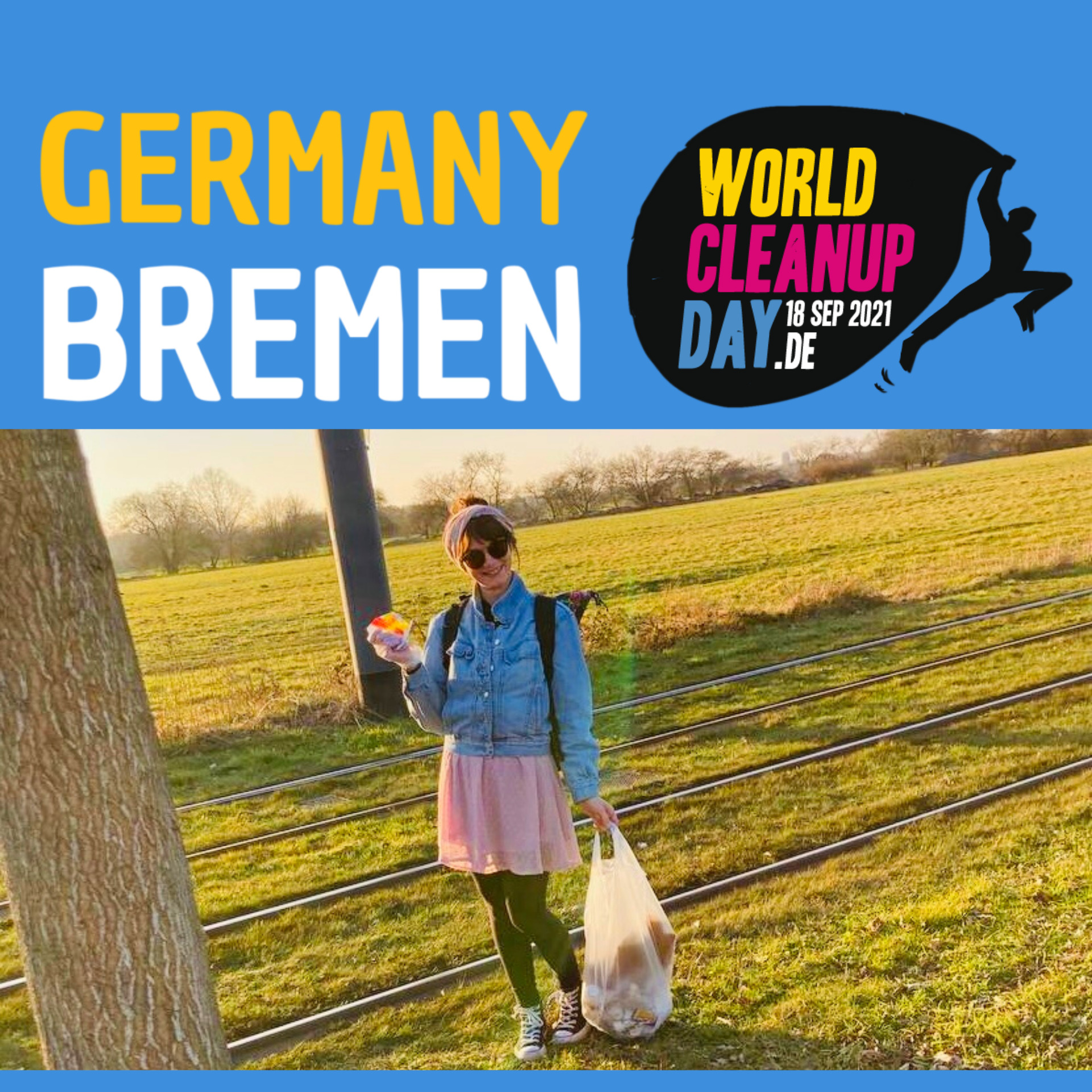 """Cleanup Bremen-Team """"Lise Lotte räumt auf"""" (Bremen)"""