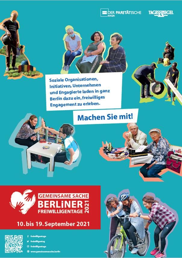 Gemeinsame Sache - World Cleanup Day @ Berliner Freiwilligentage 2021