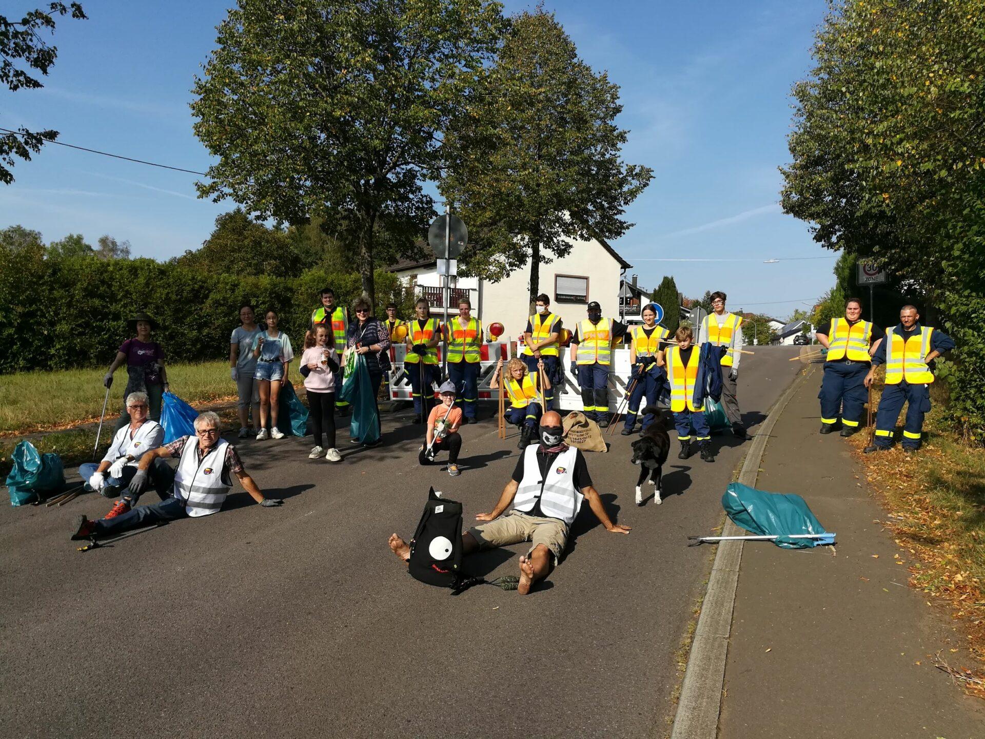 World Cleanup Day Uchtelfangen (Saarland)