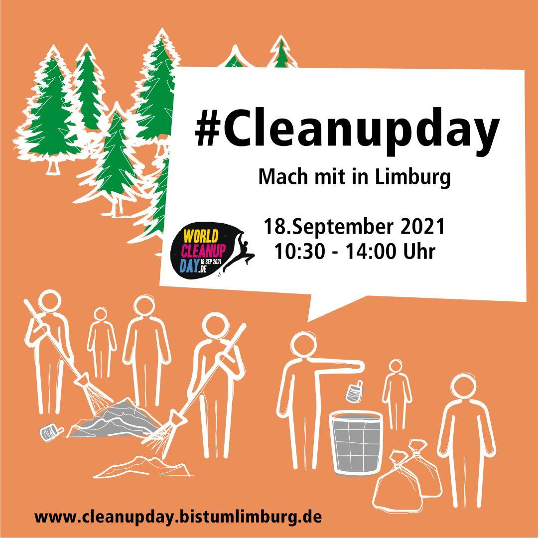 Cleanup Day im Bistum Limburg (Hessen)