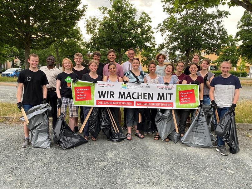 World Cleanup Day in Gießen (Hessen)