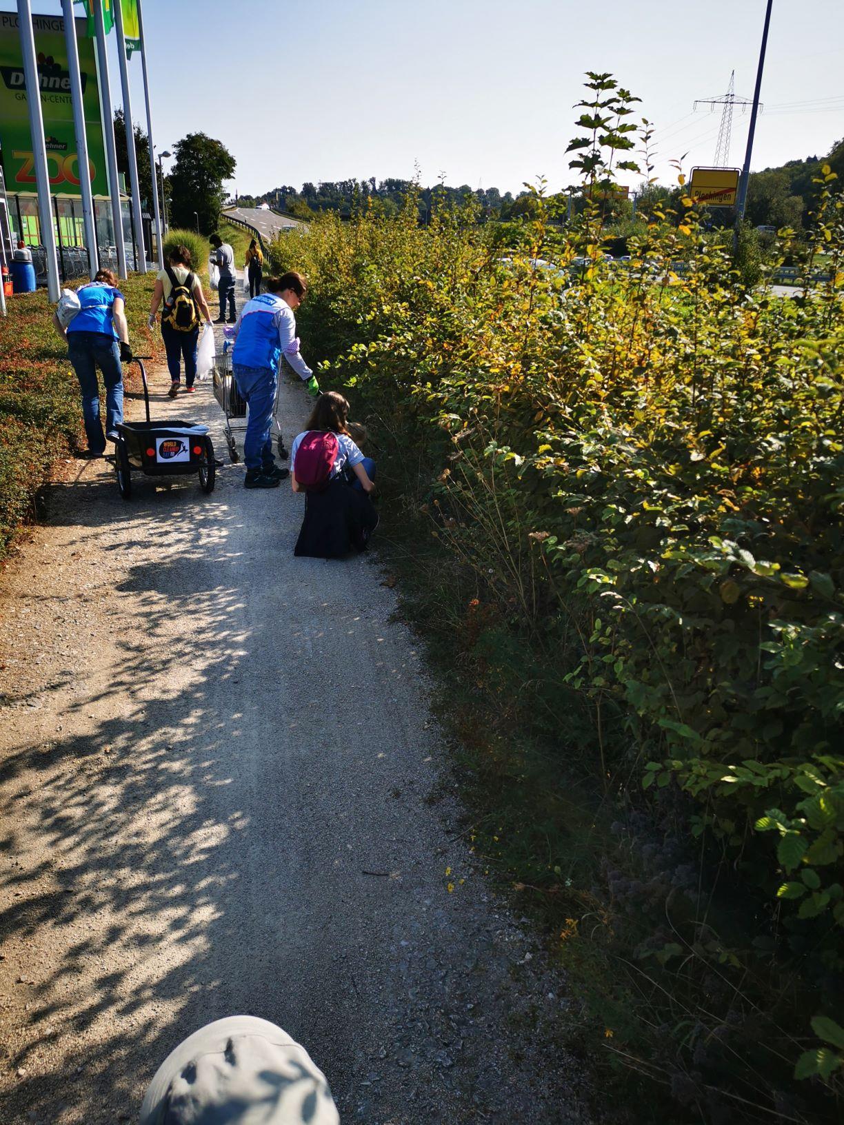 DECATHLON Plochingen - für ein sauberes Spielfeld (Baden-Württemberg)