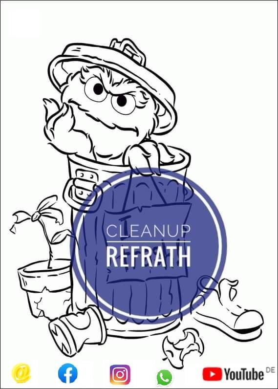 Cleanup Refrath am World Cleanup Day (Nordrhein Westfalen)